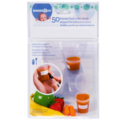 Especially for Baby 50 Ct Freezer Food Tray Labels