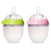 Comotomo Natural Feel Baby Bottle, 4 Pack