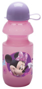 Planet Zak Minnie Mouse Water Bottle with Cap, 380ml