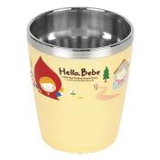 Lock & Lock Hello Bebe Storytelling Educational Design Baby Feeding Stainless Steel Cup