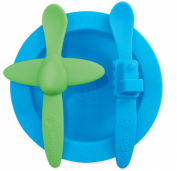 Oogaa Baby Mealtime Set (Blue)