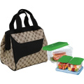 Fit & Fresh Downtown Insulated Designer Lunch Kit, Cocoa, 9x15cm x 20cm