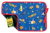 AM PM Kids! Reversible Placemat/Chalkboard