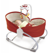 Baby / Child Tiny Love 7.6cm 1 Safe And Comfy Rocker Super Soft Plush Seat Gentle, Rocking Motion Napper - Red Infant