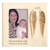 Godmothers Are Angels on Earth Frame