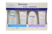 Aveeno Baby Essentials Pack, 2 Lotions, Bath and Shampoo
