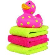Elegant Baby Ducky and Washcloth Set