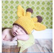 Little Newborn Baby Baby Photography Prop Handmade Soft Crochet Hats Baby Animal Hat Cap