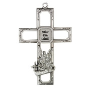 Guardian Angel Wall Cross Infant Nursery