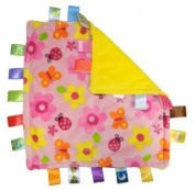 Taggies Little Taggies Blanket, Pink Flowers and Butterflies