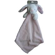 Blankets and Beyond Pink Bunny Rabbit Baby Security Blanket Nunu Lovey