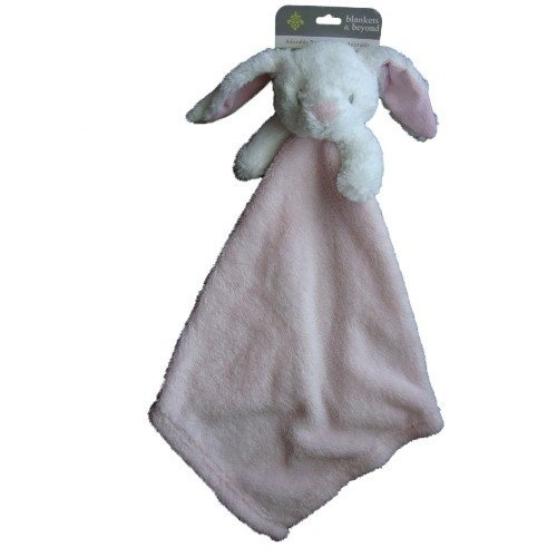 b8431b90ae Blankets and Beyond Pink Bunny Rabbit Baby Security Blanket Nunu ...