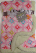 Blankets and Beyond Baby Girl Multi-coloured Soft Blanket
