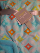 Blankets and Beyond Colourful Baby Blanket
