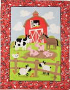 Izzy Farmtasia Nursery Blanket