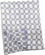 Izzy Jacquard Knitted Baby Throw Nursery Blanket