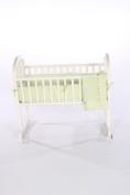 Baby Doll Bedding Heavenly Soft Cradle Set