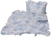 Baby Doll Bedding Toile Cradle Set