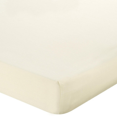 . Tencel Crib Sheet - Ecru
