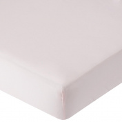 . Percale Crib Sheet - Pink