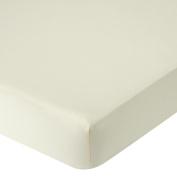 . Organic Crib Sheet - Ecru