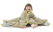 Baby Deedee Toddler Quilt, Khaki/Lime