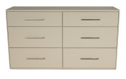 Offspring York 6 Drawer Double Dresser