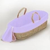 Solid Colour Moses Basket