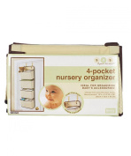 Delta Girls And Boys 4 Pocket Nursery Organiser