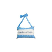 Bulk Buys Snuggles & Cuddles Hanging Decorative Blue Pillow - Case of 12