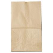20# Squat Paper Bag, 40lb Kraft, Brown, 8 1/4 x 5 15/16 x 14 3/8, 500/Pack