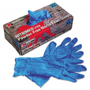 Nitri-Med Disposable Nitrile Gloves, Blue, Extra Large, 100/Box