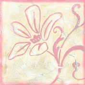 Green Frog Art 6X6 Canvas Gallery Wrapped Art, Girls Rule