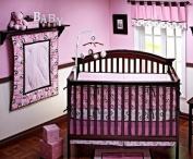 NOJO Simply Baby Metro Pink Nursery Window Treatment Valance