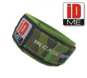 IDme safety identity wristband