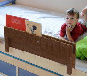 Alpha-Bookshelf Bed Rail