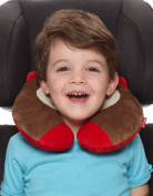 Skip Hop Zoo Childs Travel Neckrest & Head Support - Monkey