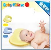 Bobkids Baby Infant Head Rest Support Cotton Pillow Memory Foam Prevent Flat