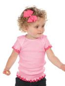 Kavio! Infants Lap Shoulder Lettuce Edge T-shirt
