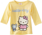 Hello Kitty Organics Baby-Girls Infant Infant Joey Long Sleeve Snap Tee