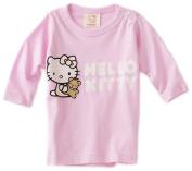 Hello Kitty Organics Baby-Girls Infant Tiny Chum Long Sleeve Snap Tee