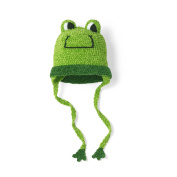 San Diego Hat Company Cotton Chenille Frog Hat, Green