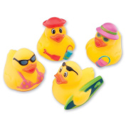 Beach Rubber Ducks - 24 per pack