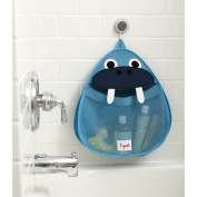 3 Sprouts Bath Toy Storage Bag, Walrus