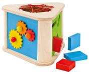Selecta 1445 Prisma Discovery Box (Dexterity Toy) - Wooden Toys/Selecta Spielzeug