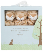 Angel Dear Pair and a Spare 3 Piece Blanket Set - Tiger