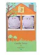 Angel Dear Blankie Cuddle Twin Set - Purple Hippo