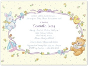 Baby Toys Montage Baby Shower Invitations - Set of 20