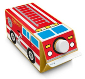 Box Play for Kids Fire Truck Stickers