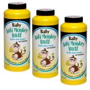 Baby Anti-Monkey Butt Nappy Rash Powder, 180ml Bottle - 3 Pack